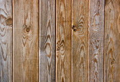Brown wooden fence Royalty Free Stock Images