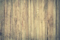 Brown Wooden Fence Royalty Free Stock Photography