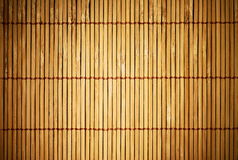 Brown wooden fence background Stock Photography