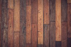 Brown Wooden Floor Royalty Free Stock Image