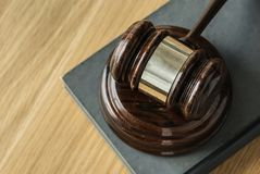 Brown Wooden Gavel Close-up Photography Royalty Free Stock Photography
