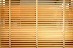 Brown wooden jalousie Royalty Free Stock Photography