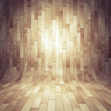Brown wooden laminate. As a background Royalty Free Stock Photos