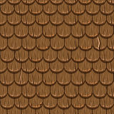 Brown wooden old roofing Roof Tiles Seamless Stock Photography