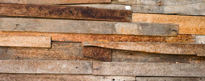 Brown wooden pallet Royalty Free Stock Photos