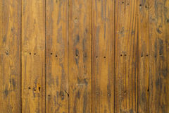 Brown wooden panel. Grungy brown paintwork on a wooden panel Royalty Free Stock Photography