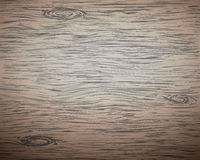 Brown wooden plank, cutting board, floor or table Stock Photos