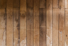 Brown wooden plank texture wall background old. Wooden wall texture from oak planks brown royalty free stock photos