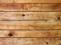 Brown wooden planks background. Brown boards connected as a wall Royalty Free Stock Photo
