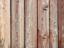 Brown wooden planks background. Brown boards connected as a wall Royalty Free Stock Images