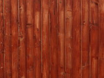Brown wooden planks background. Brown boards connected as a wall Royalty Free Stock Photography