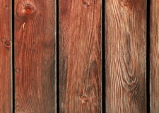 Brown wooden planks background. Brown boards connected as a wall Royalty Free Stock Image