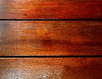 Brown Wooden Planks. Glossy Brown Wooden Planks Texture Stock Photography