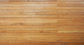 Brown wooden planks horizontal align background Royalty Free Stock Photos