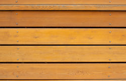 Brown wooden planks Royalty Free Stock Photography