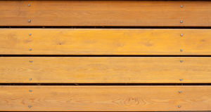Brown wooden planks Royalty Free Stock Image