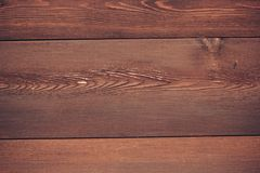 Brown wooden planks texture. For background Royalty Free Stock Images