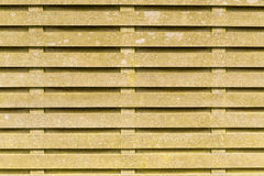 Brown wooden slats Stock Image