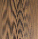 Brown Wooden surface texture with scratches Royalty Free Stock Image