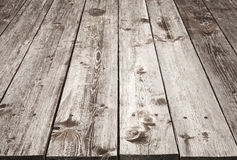 Brown wooden table background texture Royalty Free Stock Photography