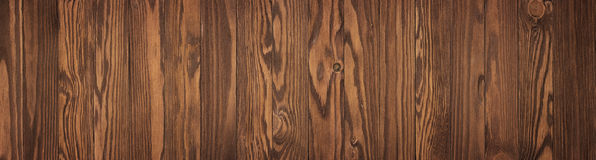 Brown wooden table, old wood texture as background Royalty Free Stock Image