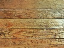 Brown wooden table plank background or texture royalty free stock image