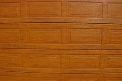 Brown wooden texture from the wall Royalty Free Stock Photo