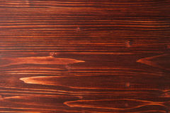 The brown wooden textured striped background. Stock Photo