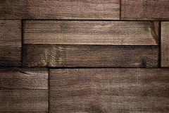 Brown wooden textured wallpaper background Royalty Free Stock Images