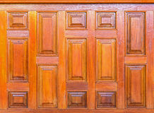 Brown wooden wal Royalty Free Stock Photography