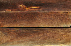 Brown wooden wall background Royalty Free Stock Image