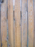 Brown wooden wall. Close-up, texture royalty free stock image