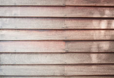 Brown wooden wall texture background Royalty Free Stock Images