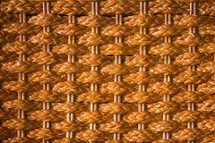 Brown wooden weave texture Stock Photos
