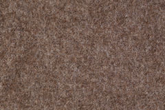 Brown wool fabric Royalty Free Stock Images