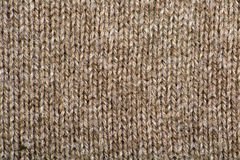 Brown Wool Texture Stock Image