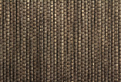 Brown woven background Royalty Free Stock Photo