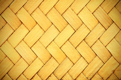 Brown woven bamboo close up texture. For background Stock Image