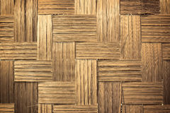 Brown woven bamboo close up texture Royalty Free Stock Image