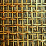 Brown woven bamboo close up texture Stock Photography
