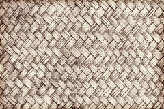 Brown woven bamboo close up texture. For background Royalty Free Stock Image