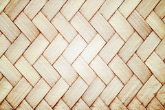 Brown woven bamboo close up texture Stock Images
