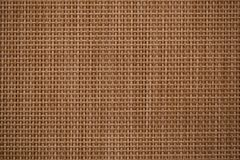 Brown woven bamboo cross pattern stock image