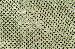 Brown woven leather. Texture background Royalty Free Stock Photo