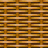 Brown woven wicker for use as background Royalty Free Stock Image