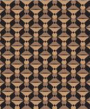 Brown wzór Zdjęcia Stock