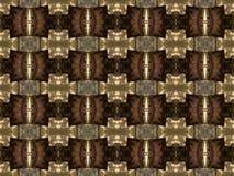 Brown wzory i kształty Fotografia Royalty Free