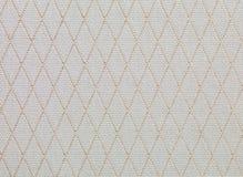Brown y textura retra amarillenta de la tela Fotografía de archivo libre de regalías