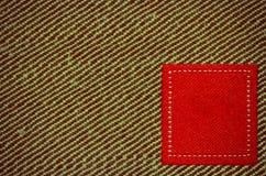 Brown y textura roja para el fondo para el área de texto Imagen de archivo