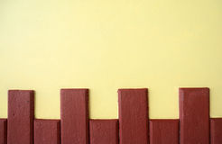 Brown yellow background Stock Photo